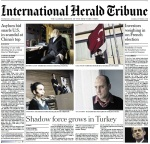 Today's IHT front page